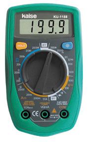 数字万用表KU-1188