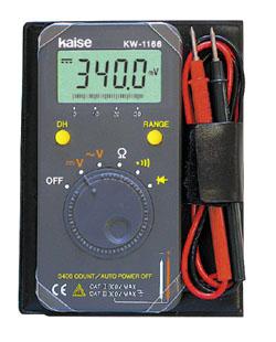数字万用表KW-1166