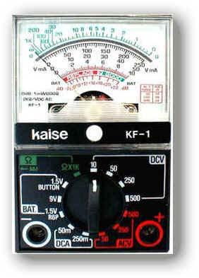 指针式模拟万用表KF-1