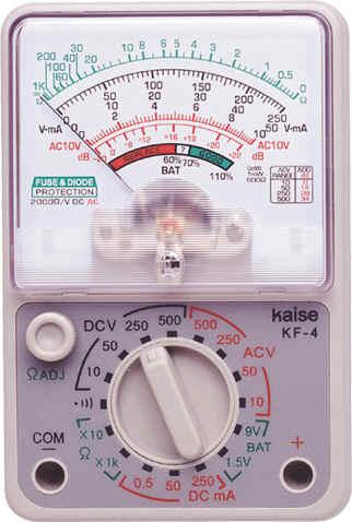 指针式模拟万用表KF-4