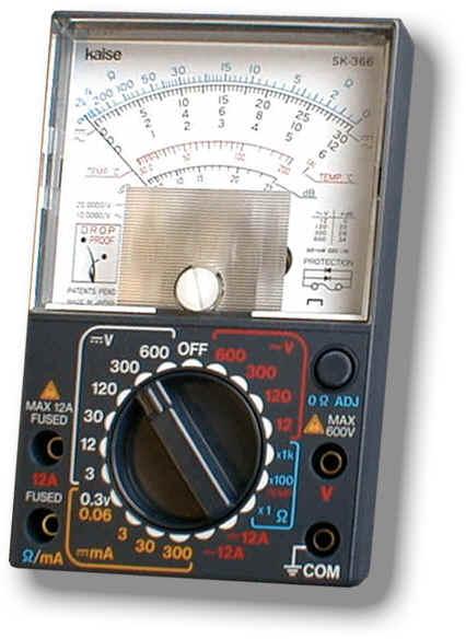 指针式模拟万用表SK-366