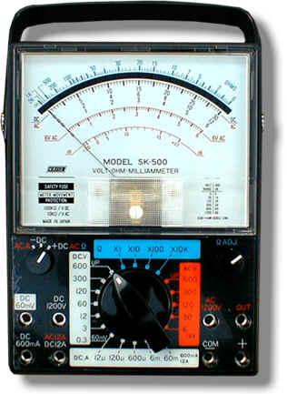 指针式模拟万用表SK-500