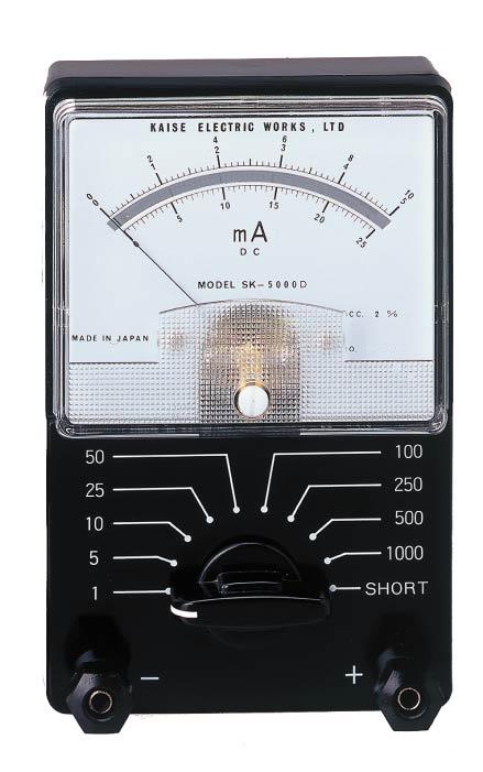 直流MA电流计SK-5000D