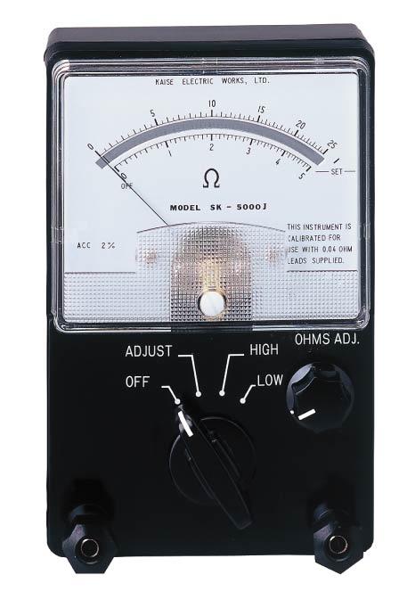 低抵抗计SK-5000J