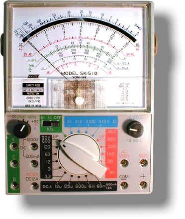 指针式模拟万用表SK-510