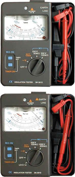 绝缘电阻测量仪SK-3322