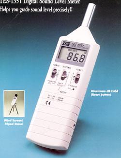 数字式声级计噪音计TES-1351