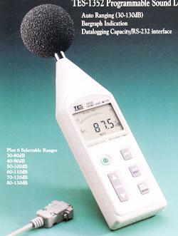 可程式噪音计声级计TES-1352A(已停产)