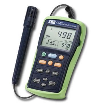 非色散式红外线二氧化碳测试器TES-1370