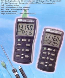温度记录表TES-1316(K.J.E.T.R.S.N.)