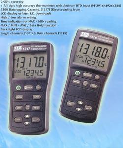 白金电阻温度表TES-1317(不带探头)