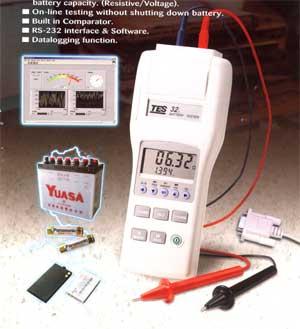 电池测试仪TES32