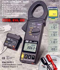 功率表介面传输器(RS-232)TES3064