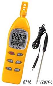 温度计/湿度计/露点/湿球温度仪AZ8716