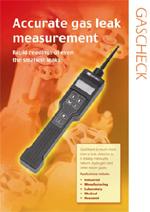 多用途气体泄漏探测仪GasCheck 5000is