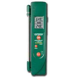 红外测温仪+温度探针IR301