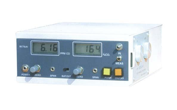 便携式CO/CO2分析器 018