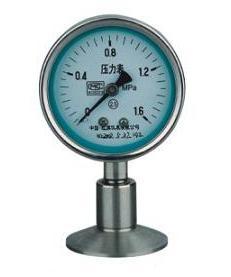 Y-MC Y-MN系列卫生型隔膜压力表