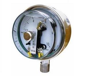 YTXC-100/150B全不锈钢耐振电接点压力表