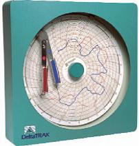 走纸圆图形温湿度记录仪14004--14006