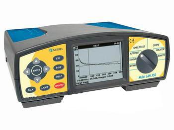 高性能六类网络电缆分析仪MI2016(LAN350)