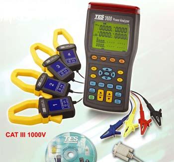 三相电力分析仪TES-3600