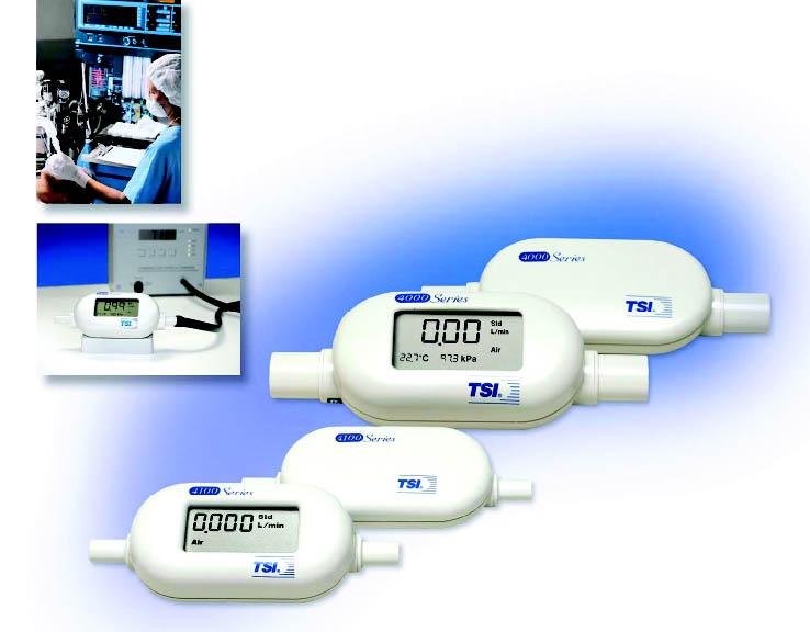 实验室和通用质量流量计TSI4020/4120系列