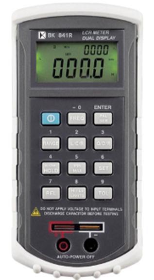 20000位专业LCR电表双组显示功能及自动换档BK841R