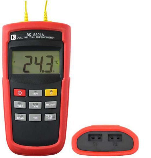K/J型温度计(双组输入)BK8801A