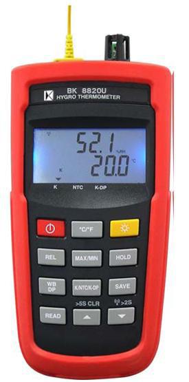 温湿度计 BK8802UW(USB+电源供应器+无线传收)