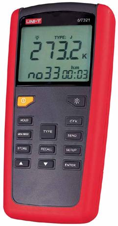 UT320系列(专业型数字测温表)UT-321