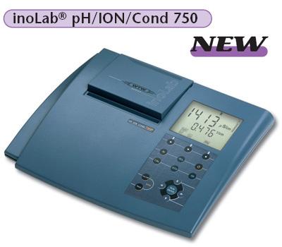 最新科技型实验室电导度计 inoLab pH/ION/Cond 750