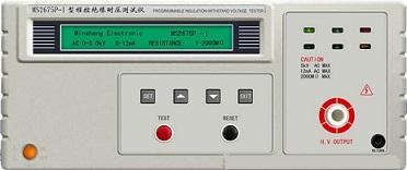 程控绝缘耐压测试仪MS2675P-Ⅱ