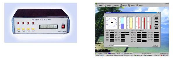太阳辐射风速报警仪 PC-2D