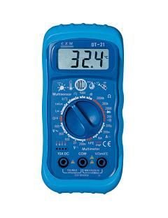 五合一多功能环境测试表DT-21
