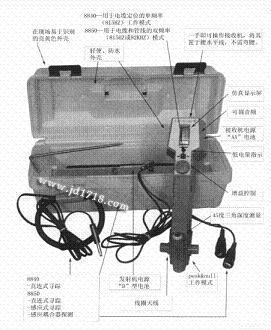 电缆、管道和故障定位仪8850Path Finder II