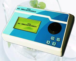 食品•保健品过氧化氢(双氧水)快速测定仪6000S