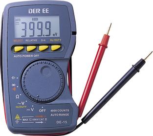 口袋型万用电�lDE-15