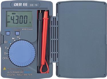 口袋型万用电�lDE-18