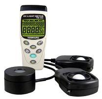 UVA强度计/照度计/太阳光功率计三合一表TM-208