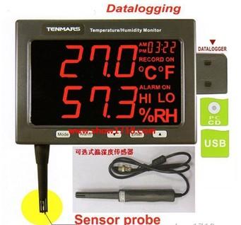 精密型温湿度监测记录器TM-185