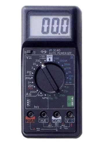 数位三用电表YF-3140
