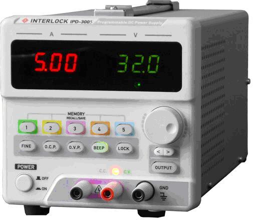 可编程直流电源Interlock IPD-3305SLU