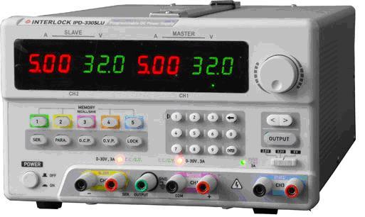 可编程线性直流电源Interlock IPD-3305LU