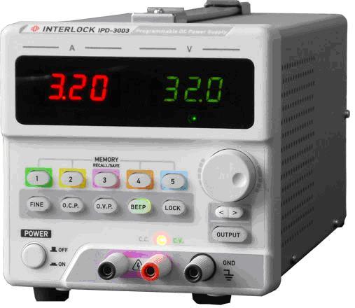 可编程直流电源Interlock IPD-3003LU