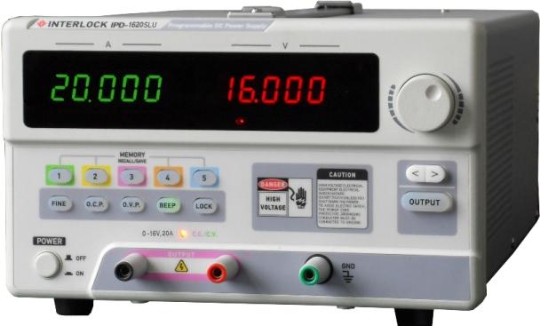 可编程直流电源Interlock IPD-1620SLU