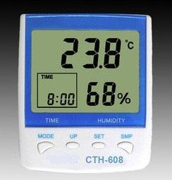 电子数字温湿度表CTH-608