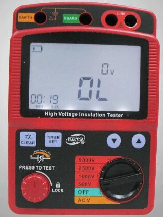 高压兆欧表BZGM-3125