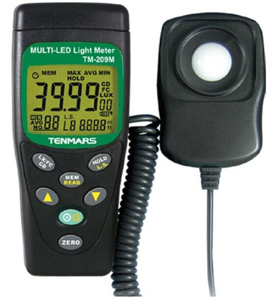 LUX/FC LED照度表TM-209M