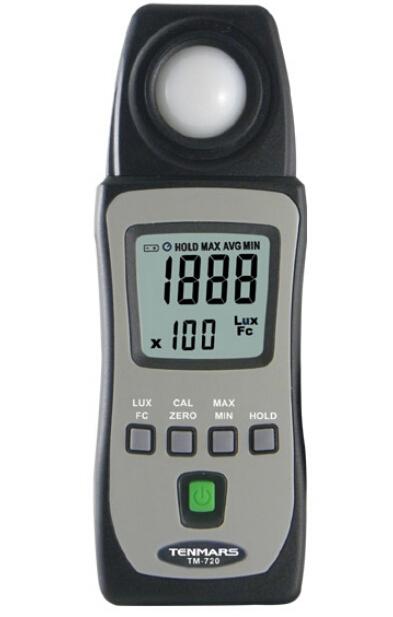 LUX/FC照度表TM-720